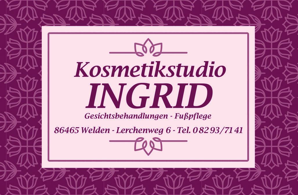 Kosmetikstudio Ingrid